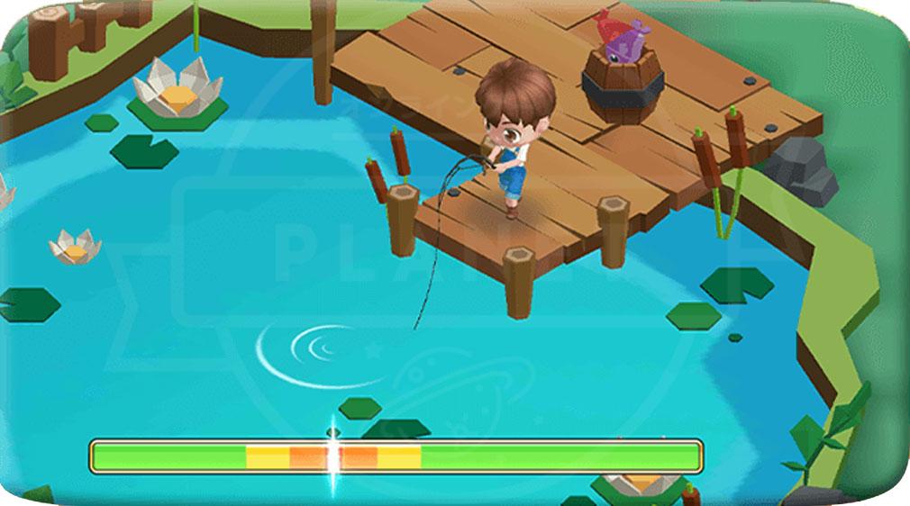 ファンタジーファーム ようせい島のボクとキミ 釣りスクリーンショット