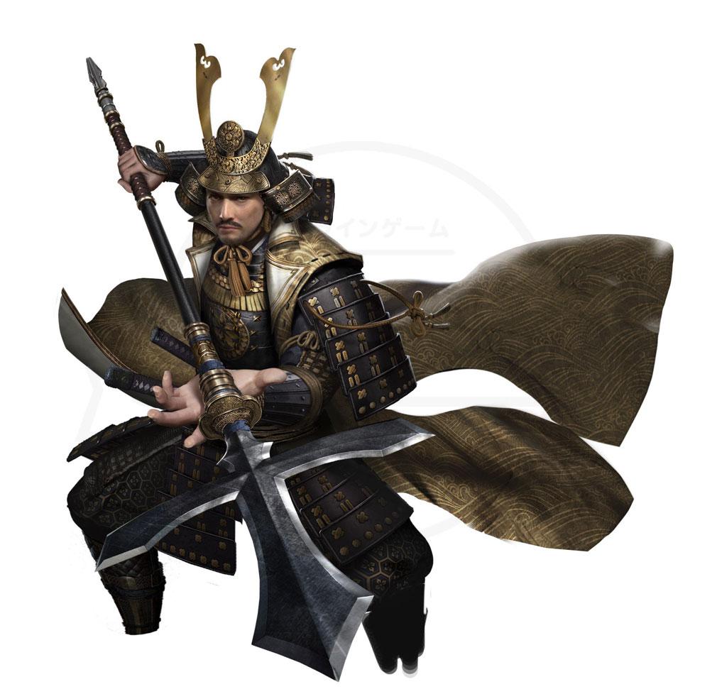 獅子の如く 戦国覇王戦記 キャラクター『長宗我部元親』紹介イメージ