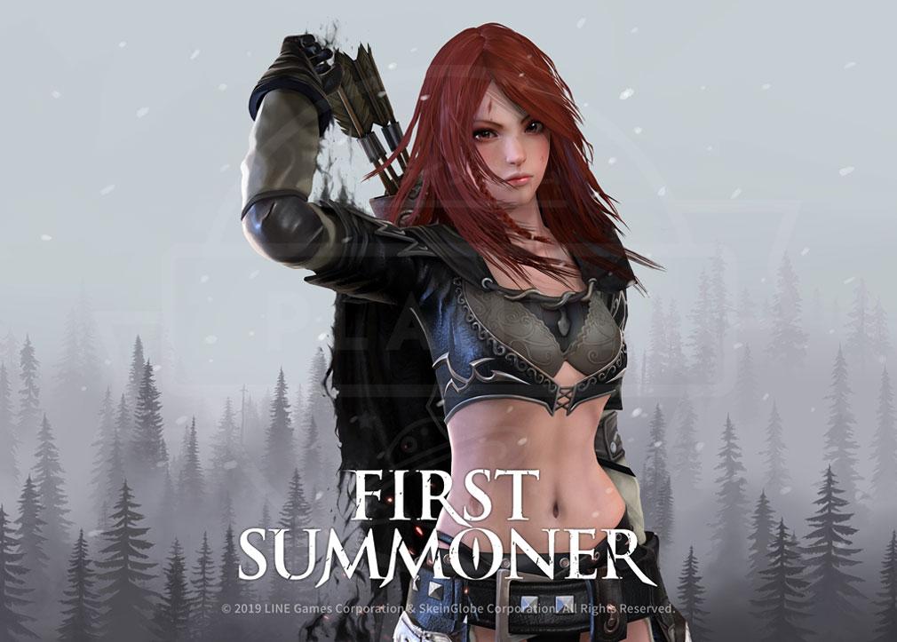 ファーストサマナー(First Summoner) 世界に対抗する女性主人公『レイチェル』紹介イメージ
