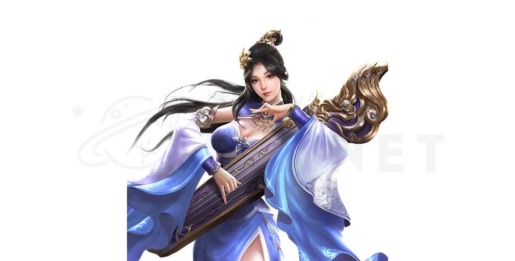 天地の如く 激乱の三国志 美女キャラクター『蔡文姫』紹介イメージ
