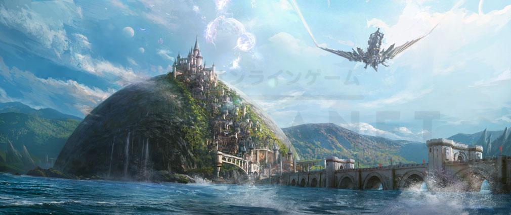 ETERNAL(エターナル) ノルダニア神聖国の聖都『キングスポート』のコンセプトアート紹介イメージ