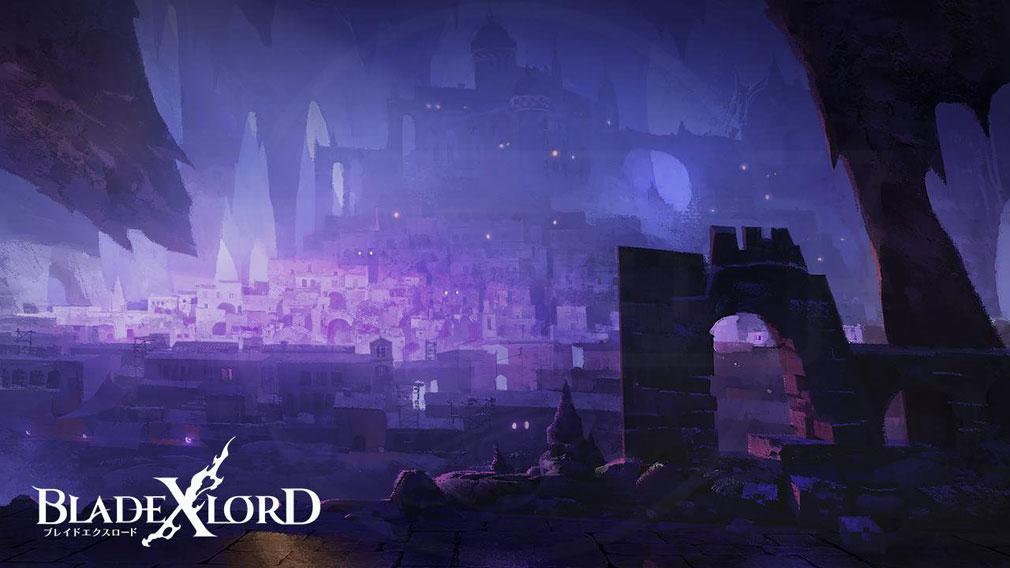 ブレイドエクスロード(ブレスロ) コンセプトアート主人公ライドと冒険を共にするユオルの出身地イメージ