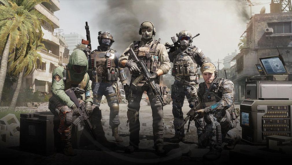 Call of Duty Mobile (CoDモバイル) 色々なカスタマイズができるキャラクター紹介イメージ