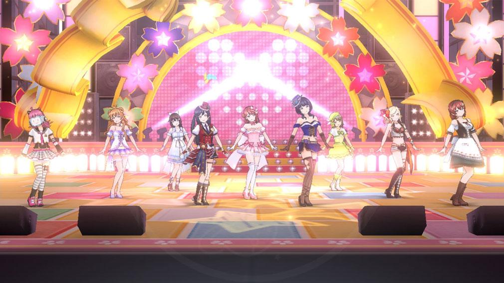 ラブライブ!スクールアイドルフェスティバルALL STARS(スクスタ) ライブパートスクリーンショット