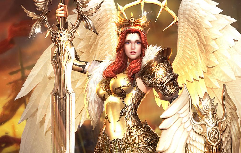 League of Angels3 リーグ オブ エンジェルズ3(LoA3) 英雄キャラクター『ヴィクトリア(Victoria)』紹介イメージ