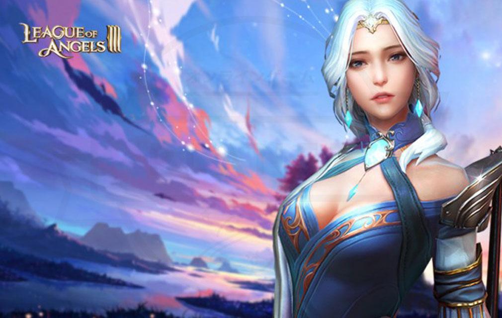 League of Angels3 リーグ オブ エンジェルズ3(LoA3) 英雄キャラクター『ヨハンナ(Johanna)』紹介イメージ