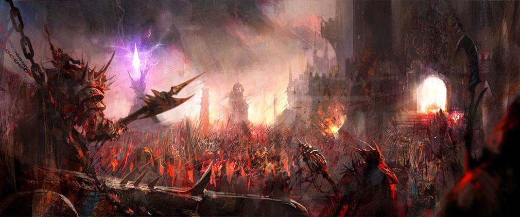 LAST KINGS(ラストキングス) 戦争が始まった世界観紹介イメージ