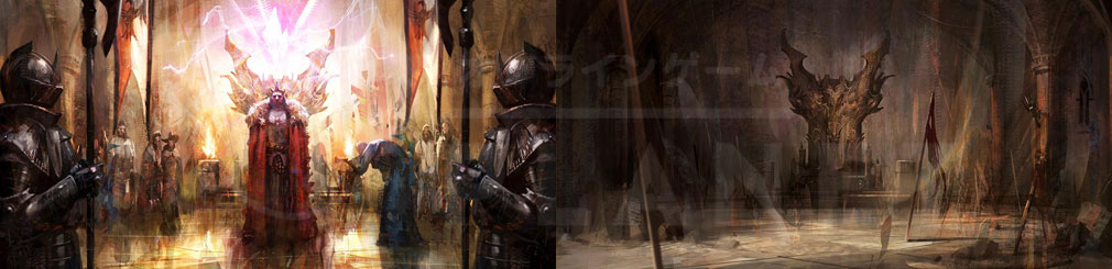 LAST KINGS(ラストキングス) 『アウルム』と『バルトル』世界観紹介イメージ