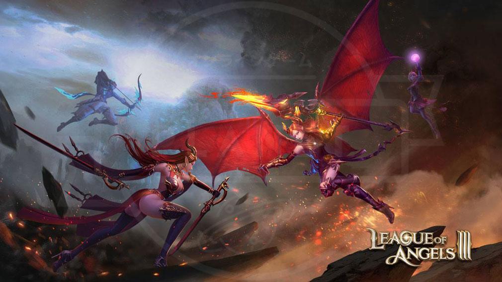 League of Angels3 リーグ オブ エンジェルズ3(LoA3)日本 第3編物語紹介イメージ
