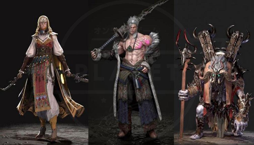 LAST KINGS(ラストキングス) 英雄キャラクタースクリーンショット