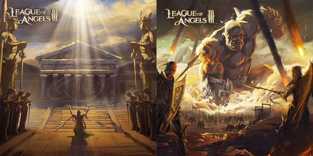 League of Angels3 リーグ オブ エンジェルズ3(LoA3) 世界観紹介イメージ