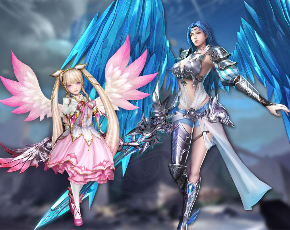 League of Angels3 リーグ オブ エンジェルズ3(LoA3)日本 英雄キャラクター『グレイシア』、『ソフィア』紹介イメージ