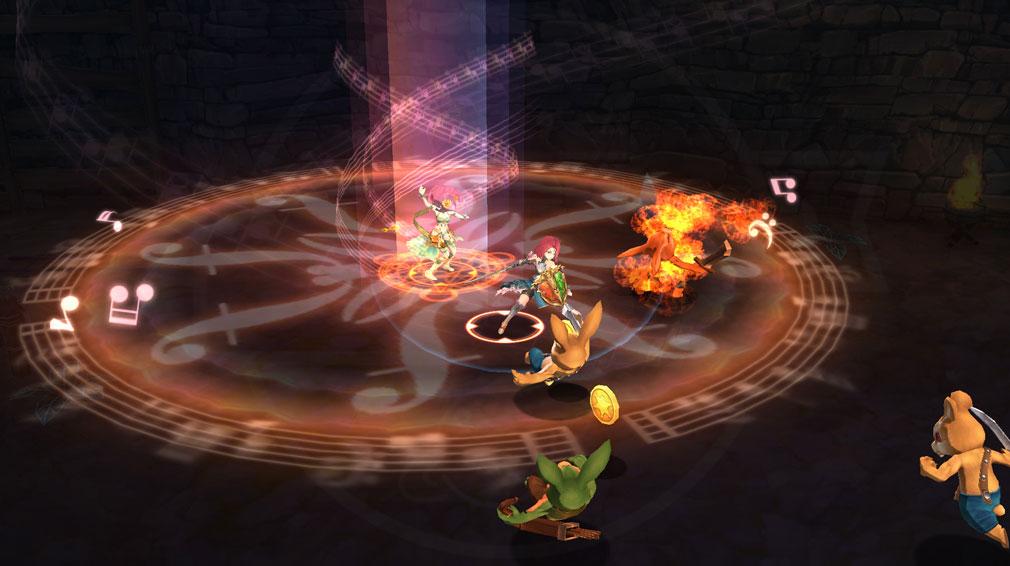 アヴァベル 女神に召喚されたら英雄だった件(めがゆう、アヴァベルEX) バトルスクリーンショット