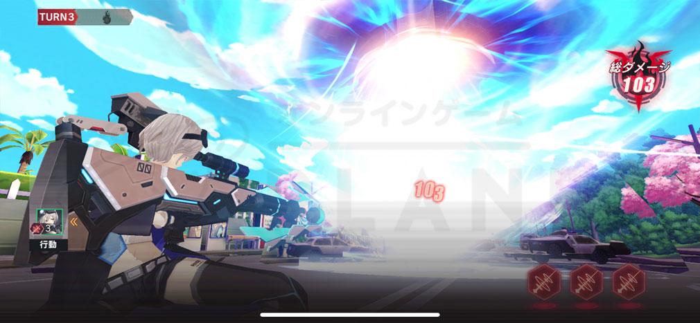 CODE SEED(コードシード) 星火ノ唄 必殺技『BRUST』のアクション演出スクリーンショット
