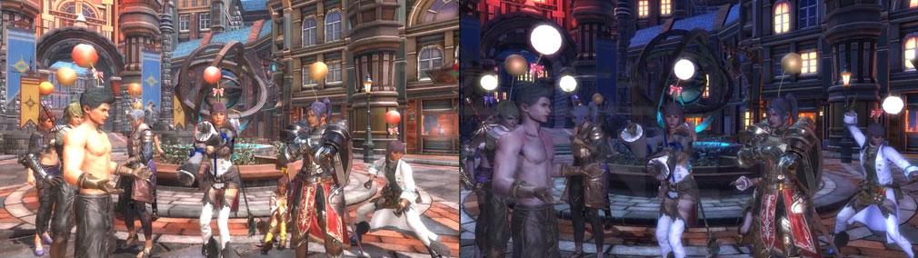 ETERNAL(エターナル) 昼夜の街や衣装の光彩変化スクリーンショット