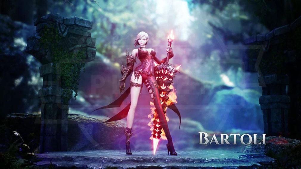 League of Angels3 リーグ オブ エンジェルズ3(LoA3) 英雄キャラクター『バルトリ(Bartoli)』スクリーンショット