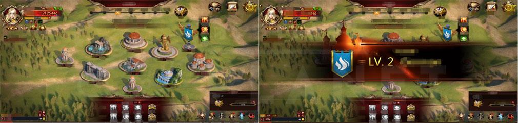 リーグ オブ エンジェルズ3(LoA3) 『ギルド』、『ギルド戦争(GvG)』スクリーンショット