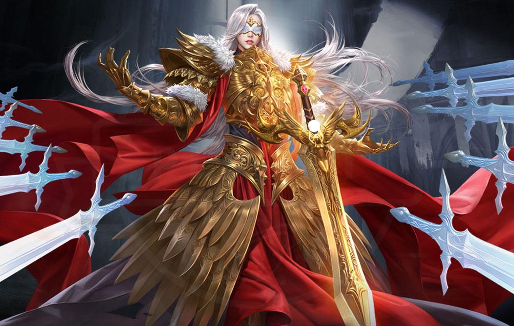 League of Angels3 リーグ オブ エンジェルズ3(LoA3) 英雄キャラクター『モイラ Moira(ヴィクトリア)』スクリーンショット