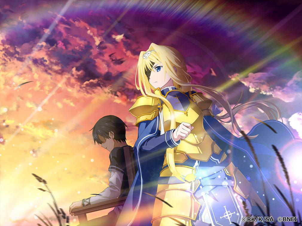 SAO アリブレ(ソードアート・オンライン アリシゼーション・ブレイディング) 限界突破『★4 決意の騎士 アリス』紹介イメージ