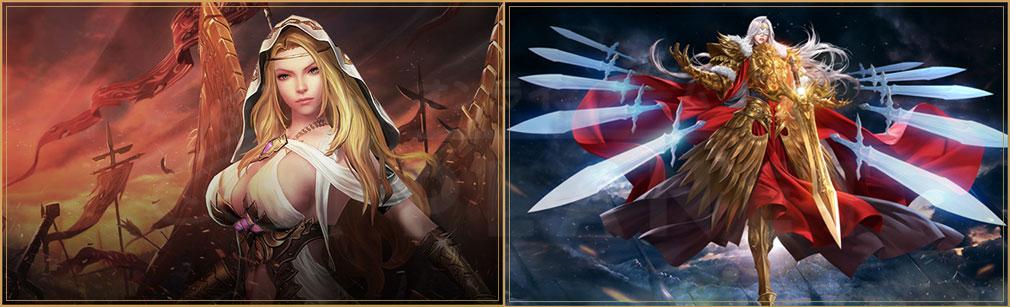 League of Angels3 リーグ オブ エンジェルズ3(LoA3) 英雄・女神アートワークスイメージ
