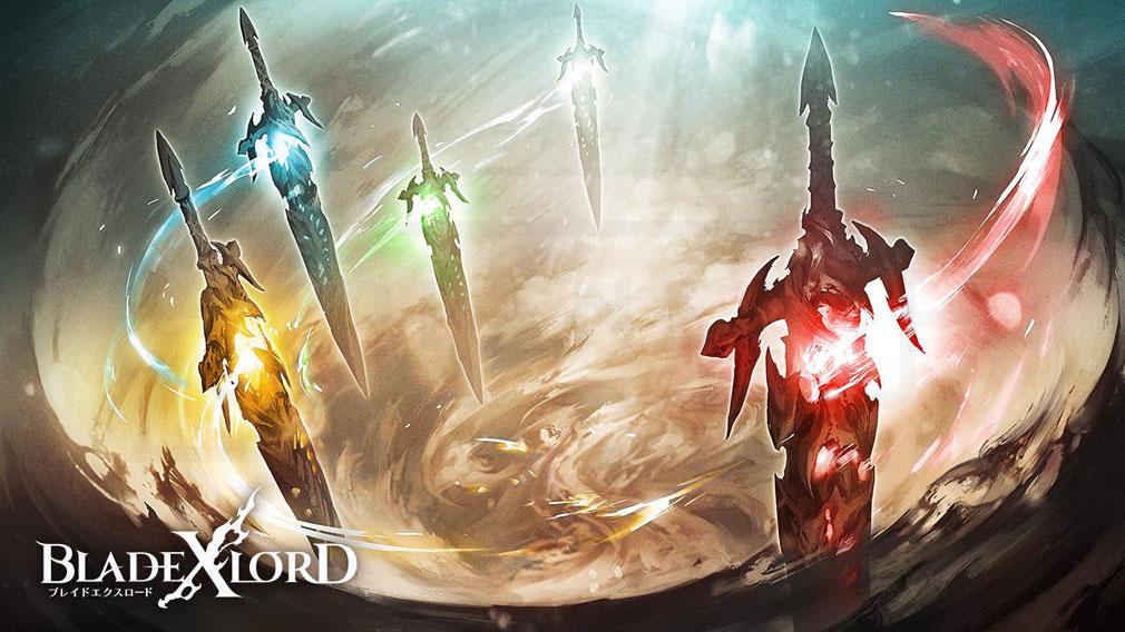 ブレイドエクスロード(ブレスロ) コンセプトアート『白の剣』と『黒の剣』世界観紹介イメージ