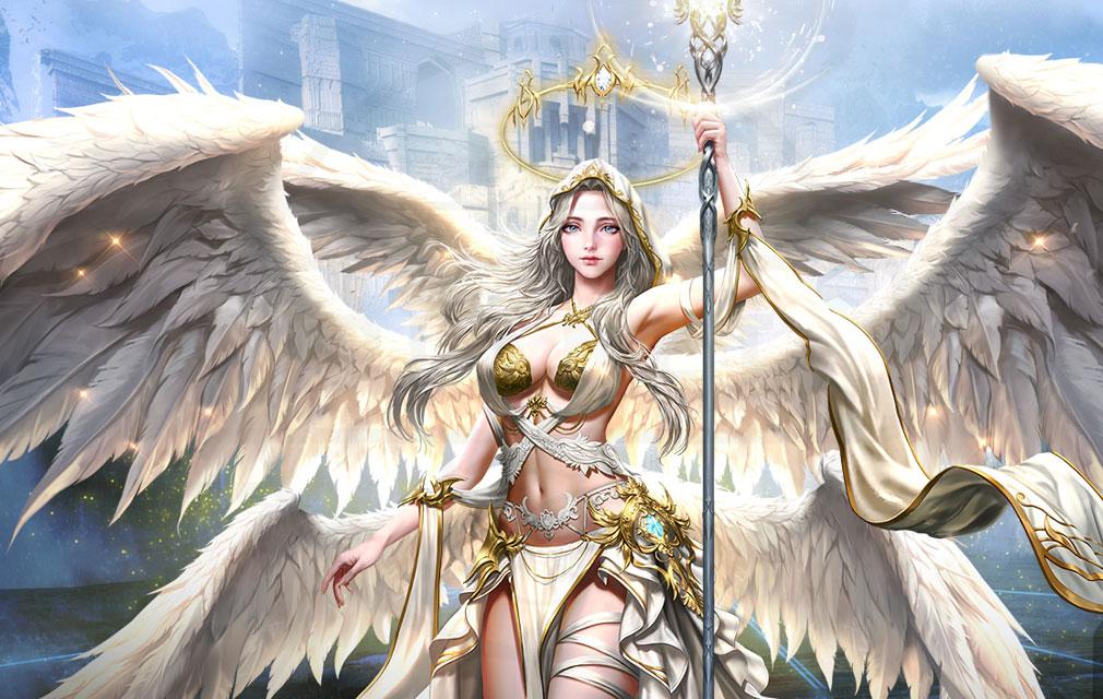 League of Angels3 リーグ オブ エンジェルズ3(LoA3) 英雄キャラクター『アテナ(Athena)』紹介イメージ