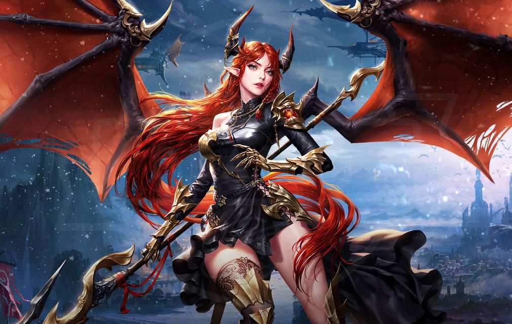 League of Angels3 リーグ オブ エンジェルズ3(LoA3) 英雄キャラクター『マリア=テレジア(Theresa)』紹介イメージ