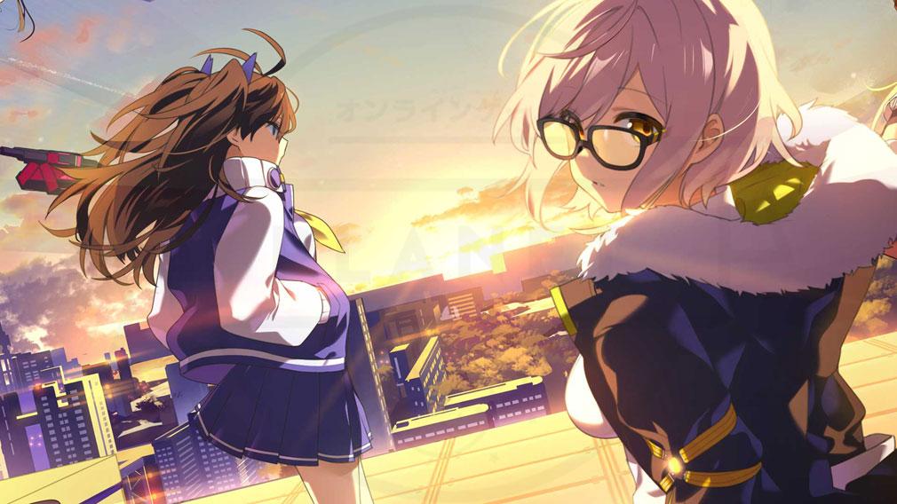 OVE GENERATION 攻防する異能力少女(オブジェネ) アニメーション紹介イメージ