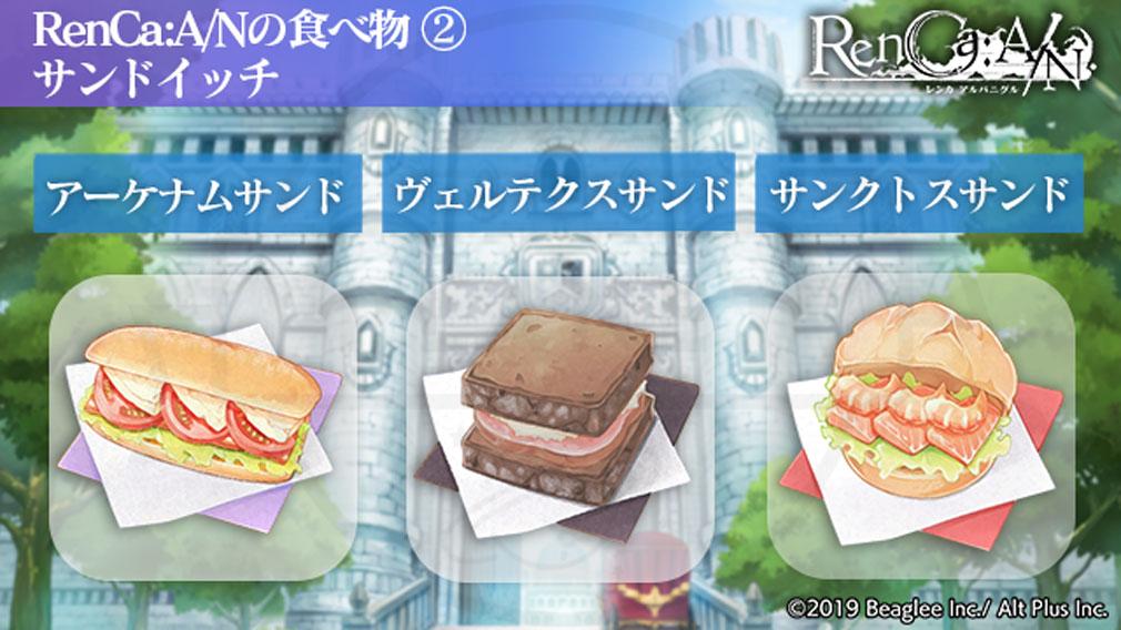 RenCa A/N(レンカ アルバニグル)レンカAN 『サンドイッチ』紹介イメージ