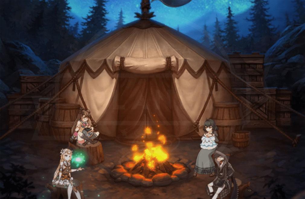 エピックセブン Epic Seven キャンプスクリーンショット