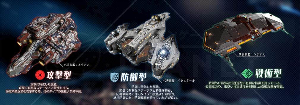 アストロキングス 旗艦タイプ紹介イメージ
