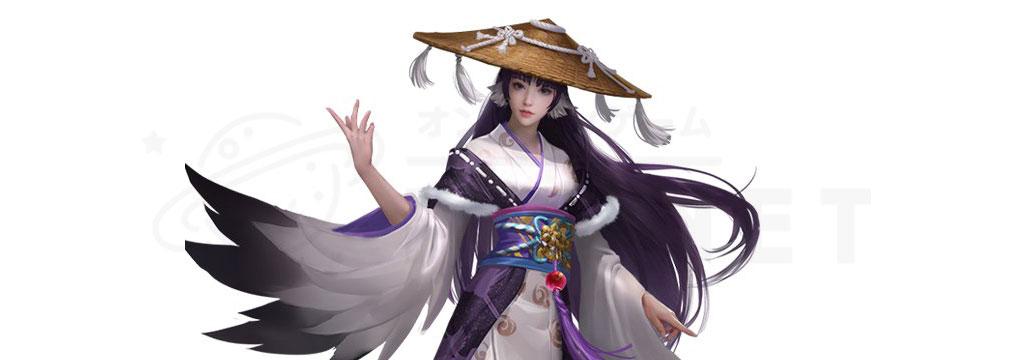 武士立志伝 俺だって出世したい キャラクター『鶴女房』紹介イメージ