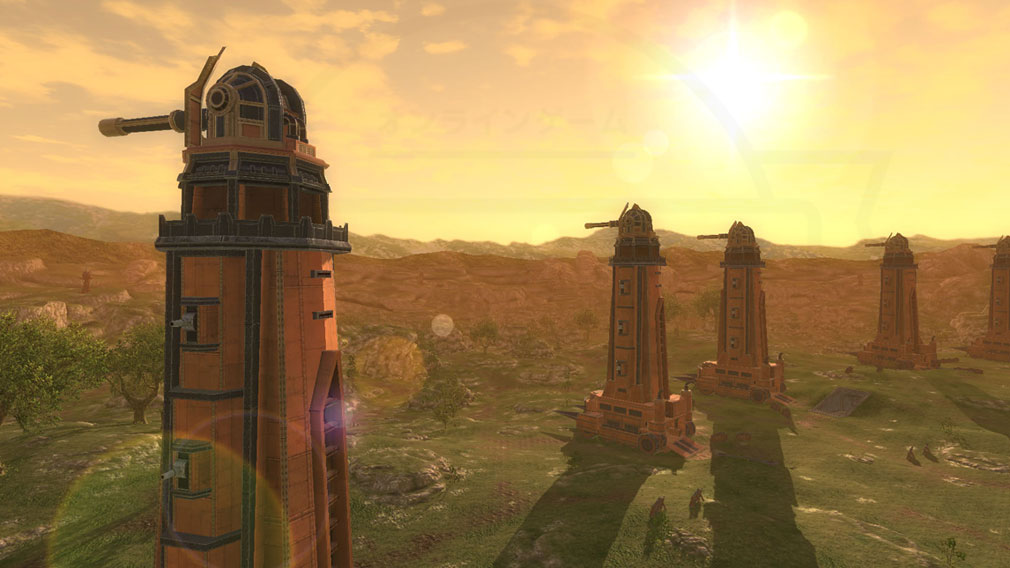 ETERNAL(エターナル) 『攻城戦』エリアに配置されている攻城兵器のスクリーンショット