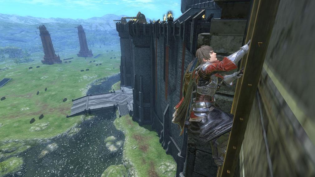 ETERNAL(エターナル) 城をよじ登るスクリーンショット