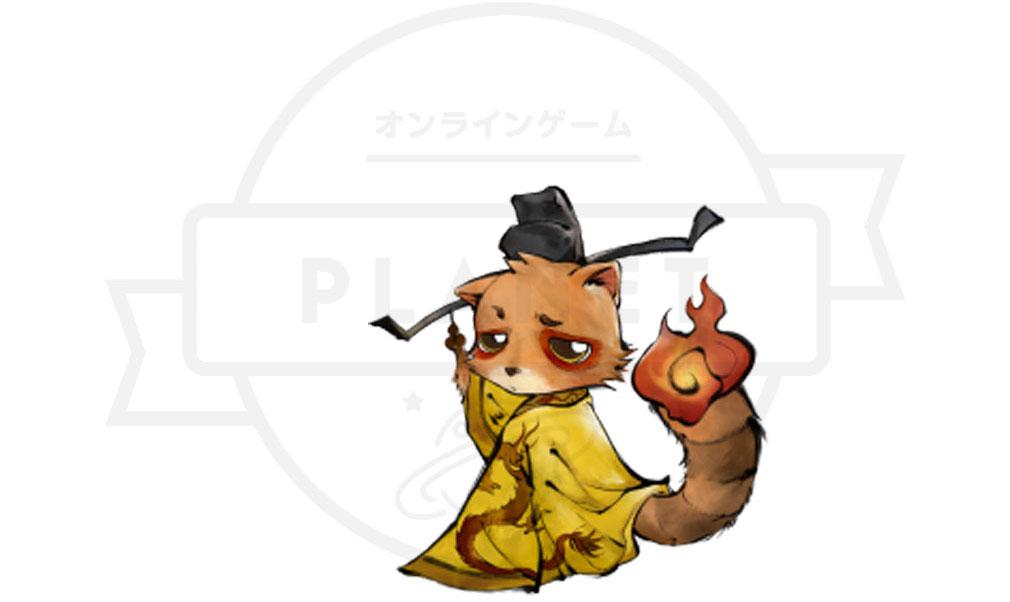 妖怪正伝 もののけ山海経(さんかいきょう) 主要キャラクター『クク』紹介イメージ