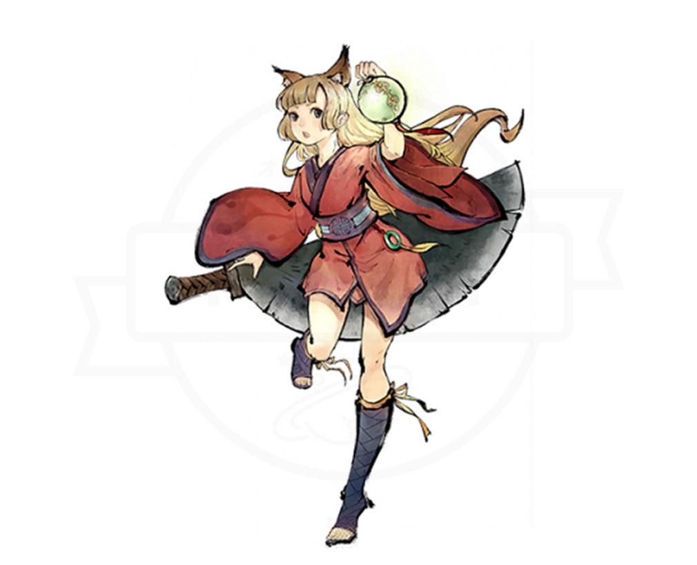 妖怪正伝 もののけ山海経(さんかいきょう) 主要キャラクター『花鈴(かりん)』紹介イメージ