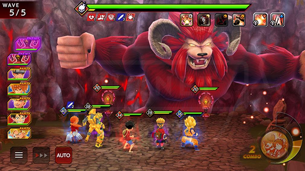 ジャンプヒーロー大戦 オレコレクション2 『獣人ダンジョン』スクリーンショット