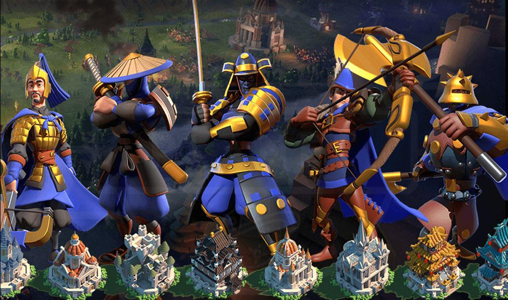 Rise of Kingdoms 万国覚醒(ライズオブキングダム)RoK ライキン 文明『日本』紹介イメージ