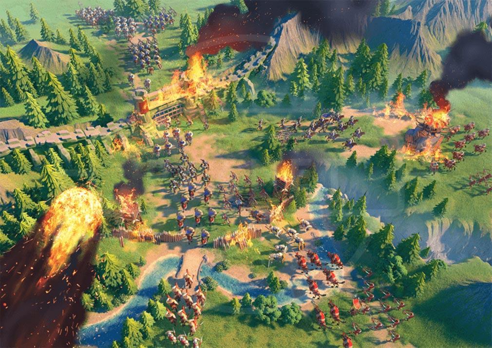 Rise of Kingdoms 万国覚醒(ライズオブキングダム)RoK ライキン リアルタイム戦略バトルスクリーンショット