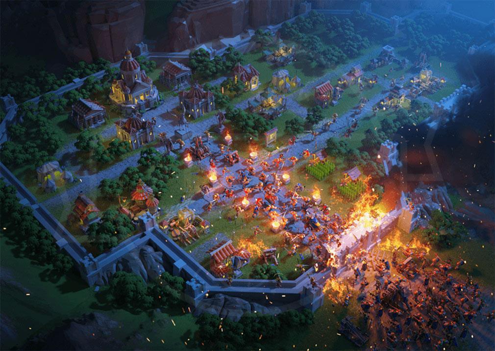 Rise of Kingdoms 万国覚醒(ライズオブキングダム)RoK ライキン 夜襲スクリーンショット