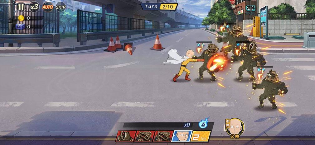 ONE PUNCH MAN 一撃マジファイト(マジファイ) 『サイタマ』が駆けつけるスクリーンショット