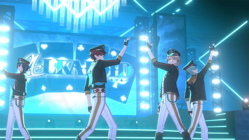 あんさんぶるスターズ!!Music (あんスタMusic) ユニット『ALKALOID(アルカロイド)』LIVEスクリーンショット