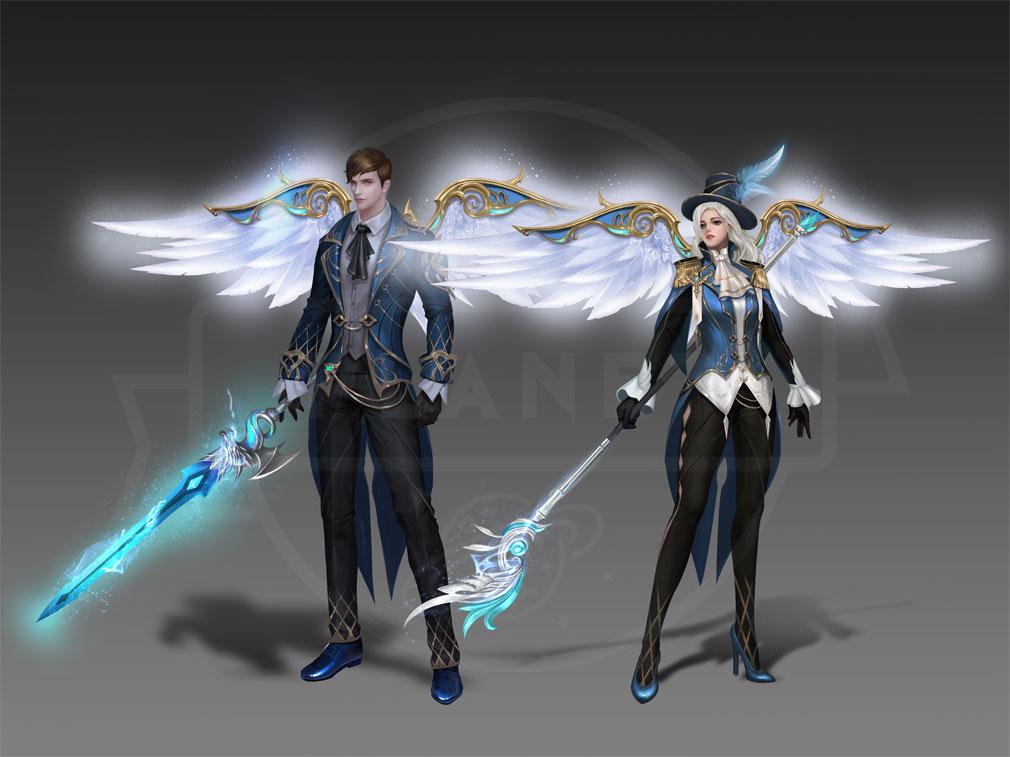 League of Angels2(リーグ オブ エンジェルズ2)LoA2 強力なGRグレードの『エンシェントノーブル』アバター紹介イメージ