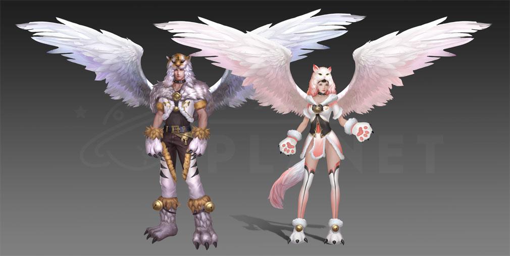 League of Angels2(リーグ オブ エンジェルズ2)LoA2 『にゃんにゃん』アバター紹介イメージ