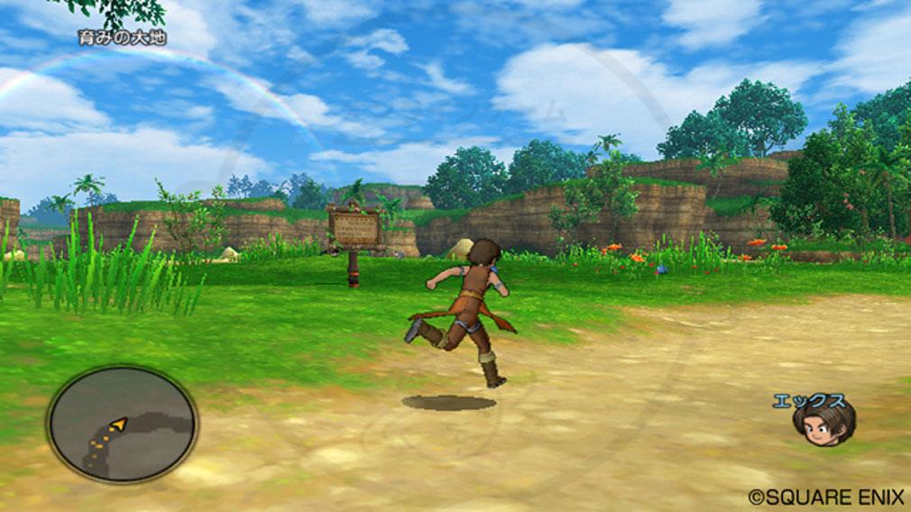 ドラゴンクエストX オンライン(DQX DQ10 ドラクエX ドラクエ10) 人間でのプレイスクリーンショット