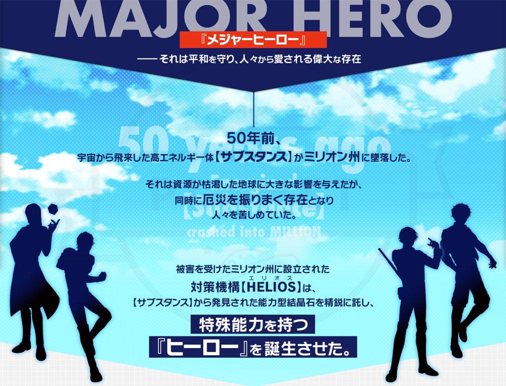 エリオスライジングヒーローズ(HELIOS Rising Heroes)エリオスR 世界観紹介イメージ