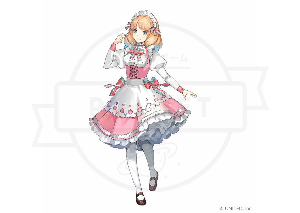 CocoPPa Dolls ココッパドール(ココドル) キャラクター『ポリー』紹介イメージ