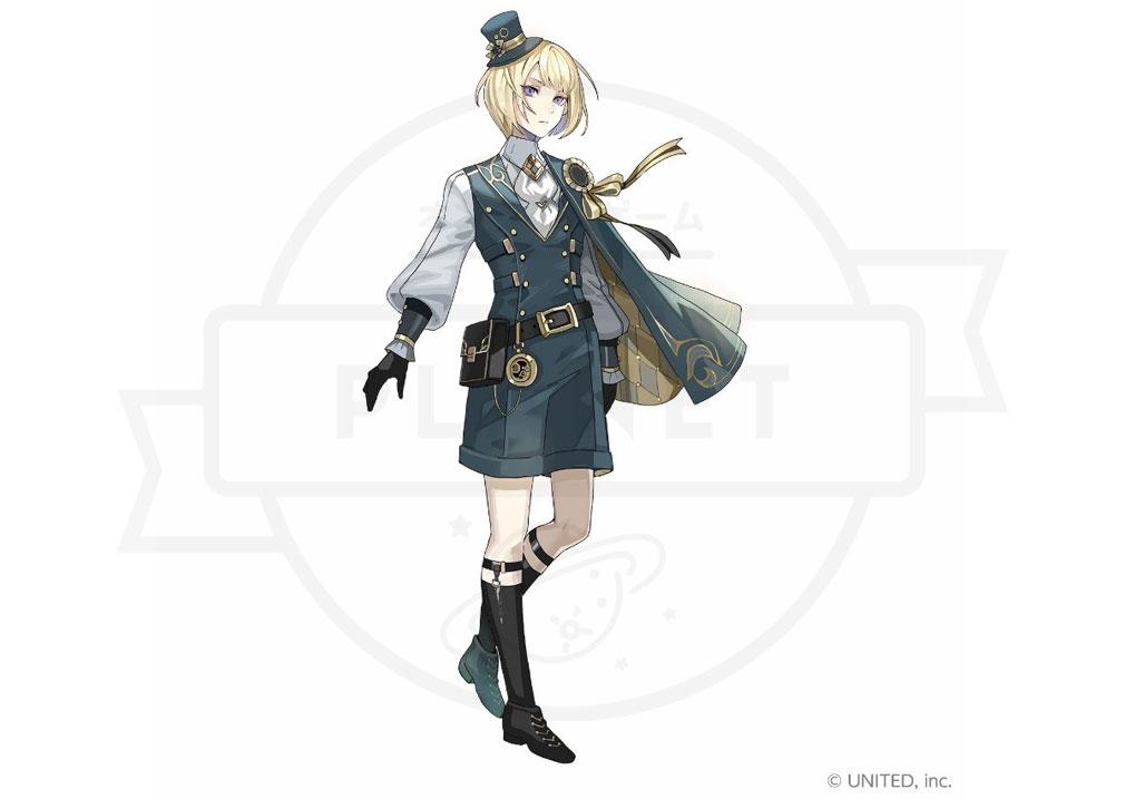 CocoPPa Dolls ココッパドール(ココドル) キャラクター『ベガ』紹介イメージ