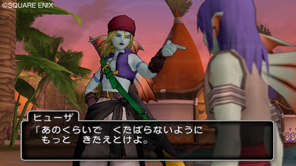 ドラゴンクエストX オンライン(DQX DQ10 ドラクエX ドラクエ10) ウェディ始まりの地『レーンの村』スクリーンショット