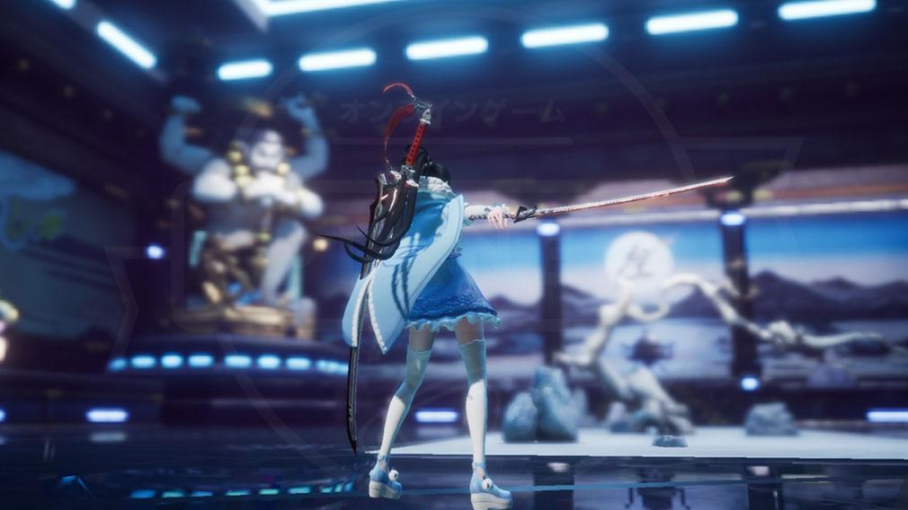 コードドラゴンブラッド(CODE D-Blood)ドラブラ 美麗グラフィックスで表現された『龍の血』にまつわる物語に巻き込まれたプレイスクリーンショット